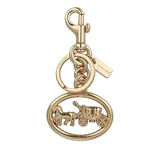 [コーチ] キーホルダー エンブレム チャーム キーフォブ COACH Horse and Carriage Charm Key Fob 5397 GOLD [並行輸入品]