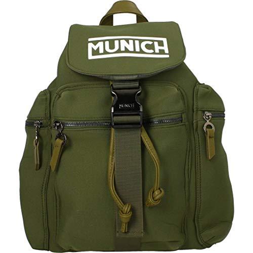 Munich Mochilas Macuto Backpack Flow para Hombre Verde Talla única