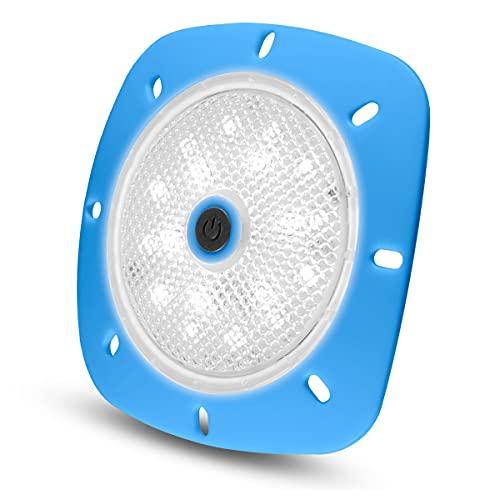 Unbekannt LED Magnetscheinwerfer Blau LED Weiß