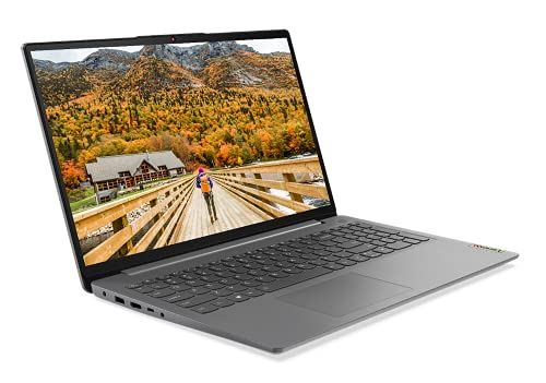 "Lenovo IdeaPad 3 - Ordenador Portátil 15.6"" FullHD (AMD Ryzen 5 3500U, 8GB RAM, 512GB SSD, AMD Radeon Vega 8 Graphics, Windows 10 Home en modo S) Gris - Teclado QWERTY Español"