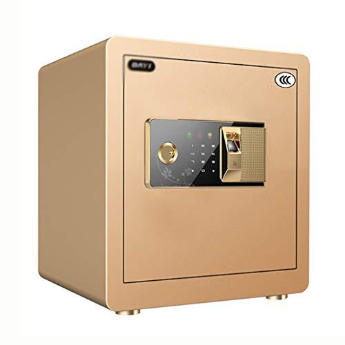 Yale lock Huishoudelijke veilige slimme metalen veilige kantoor wachtwoord box smart anti-diefstal kluis, doos stalen plaat dikte 4mm