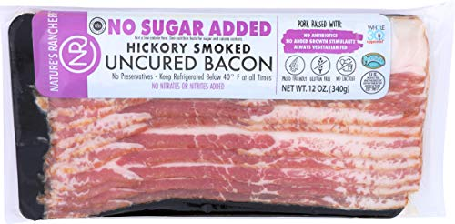 Nature's Rancher, No Sugar Added Bacon, 12 oz