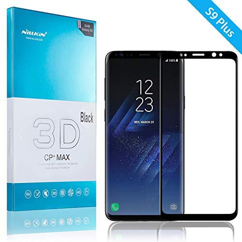 Película de Vidro para Galaxy S9 Plus, NILLKIN CP+ MAX [3D][PREMIUM][CURVA], Samsung Galaxy S9 Plus (G965)