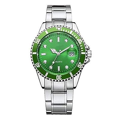 Amazon - Save 80%: Quartz Analog Wrist Watch ?Men Women Fashion Stainless Steel Date Spor…