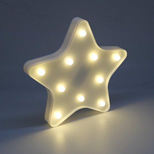 liqy Licorne Lune et les étoiles brillent Veilleuse pour Enfants Snooze Leuchten Applique murale d'extérieur Cuisine Budget Wohnen Meubles Salon Accessoires décoration