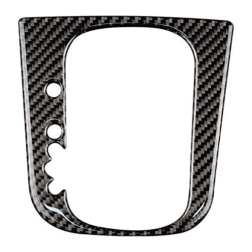 HUAER Carbon Fibra Coche Mayúsculo Panel de Cambios Pegatina Pegatina Interior Recorte Ajuste para Golf 6 MK6 2008-2013 Accesorios
