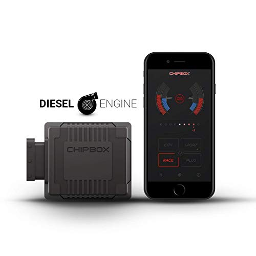 CHIPBOX CONNECT Chip Tuning - Centralina Aggiuntiva Diesel con Bluetooth - Seletron Performance