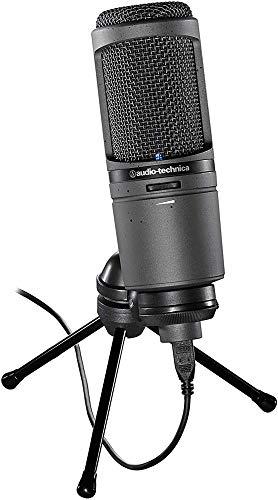 Audio-Technica AT2020USBI Microphone Cardioïde USB Noir