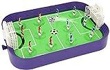 AJH ABS Plastic Table Football Puzzle Educativo Juguete para niños Fun Table Soccer Toy Juego Deportivo Interactive Party Toy Mini Portable Table Football Fútbol de escri