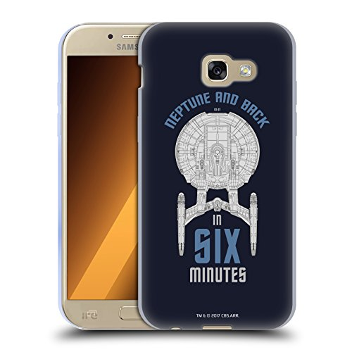 Head Case Designs Licenza Ufficiale Star Trek USS Enterprise NX-01 Vascelli della Linea Cover in Morbido Gel Compatibile con Samsung Galaxy A5 (2017)