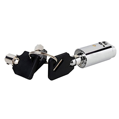 joyMerit Tubular Cam Lock 1.5''Length for Pinball Arcade Machine Door, Lockers, Cupboards, Drawers, Cabinet, Toolbox - With Universal Keys