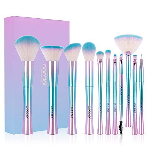 Maquillage Pinceau Set 11 Pcs Mélange Professionnel Fondation Blush Ombre À Paupières Maquillage Outils