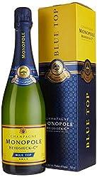 Champagne Monopole Heidsieck Blue Top Brut mit Geschenkverpackung (1 x 0,75 l)