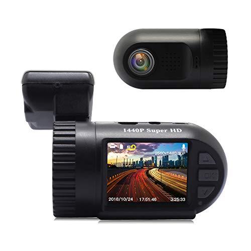 Car Dash Cam, Dash Camera, SIV FHD 1440P Car Driving Recorder with G-Sensor, WDR, Loop Recording, Night Vision, 140