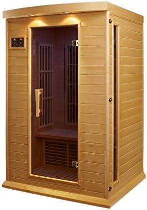 Maxxus 2 Per Low EMF FAR Infrared Carbon Canadian Hemlock Sauna product image