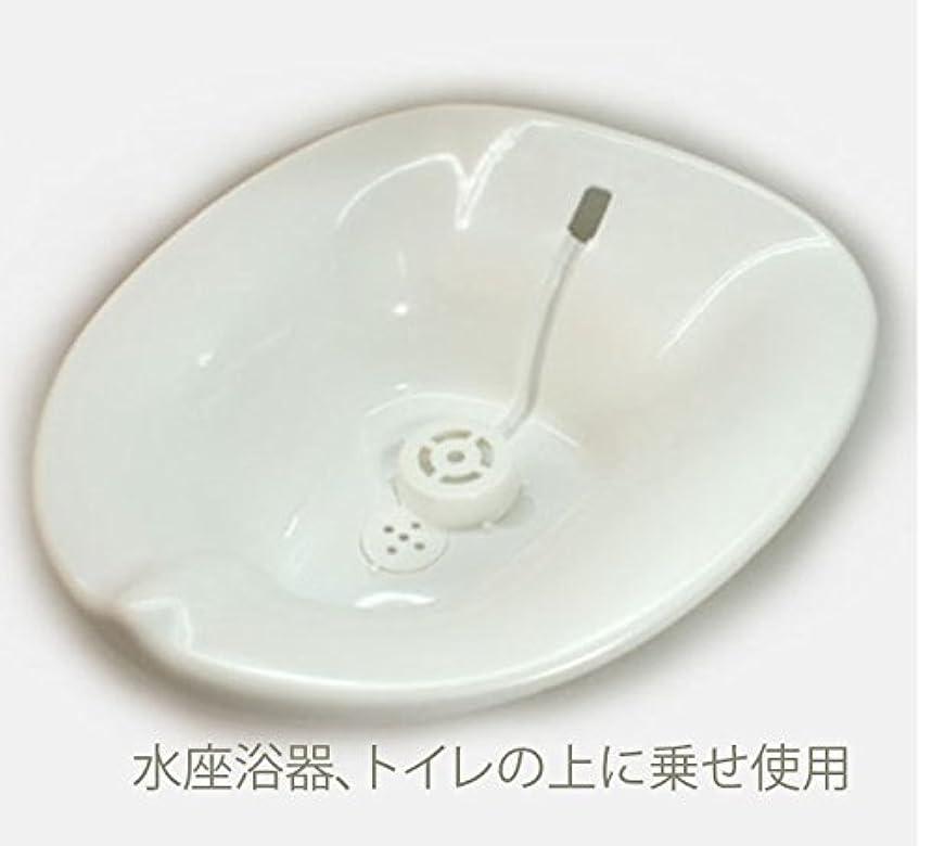 スナック確認トリクルお尻の座浴、、座浴のため、軟らかいトイレの水座浴用器、現在は色は白です
