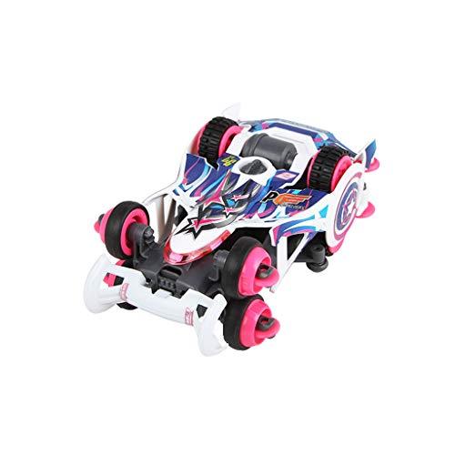 4WD, Mini-Rennspielzeug, zusammengebauter Rennsport (Color : 3)