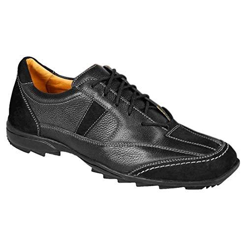 Sapato Casual Masculino Conforto Sandro Moscoloni Kirkland Preto (43)