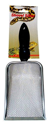Lucky Reptile Shovel - Colador de Arena para Limpieza de sustratos