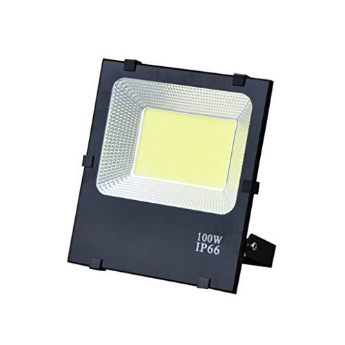 FINDYU Focos LED Exterior Al Aire Libre Super Brillante Destacar Impermeable Seguridad LED Jardín Lámpara De Trabajo Floodlight (Color : Luz Calida)