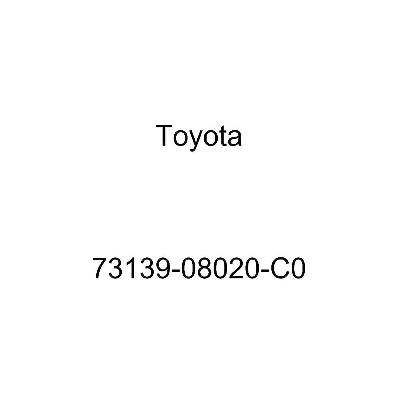 Genuine Toyota 73139-08020-C0 Seat Belt Anchor Cover