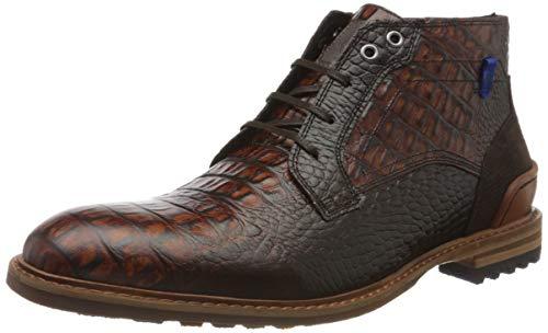 Floris van Bommel Herren 20228/24 Klassische Stiefel, Braun (Cognac Croco 24), 38 EU