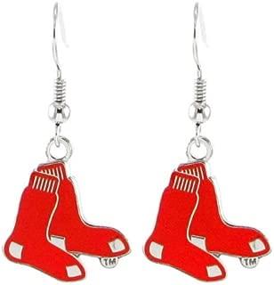 Boston Red Sox - MLB Team Logo Dangler Earrings