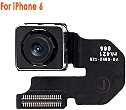 Johncase New OEM 8MP Autofocus Main Back Rear Camera Module Flex Cable Replacement Part Compatible for iPhone 6 (All Carriers)