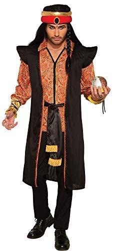 3-teiliges Herren-Kostüm Wahrsager Hellseher Mongole Dschingis Khan Araber Orientale Gr. 52/54