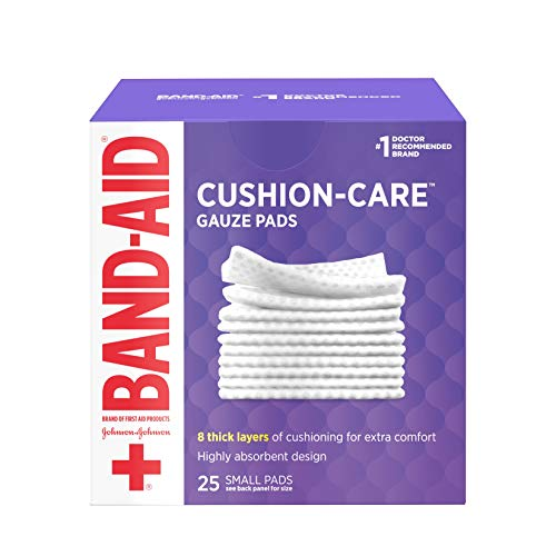 Bandaid First Aid Gauze Pads 2x2 25 Ct by Band-Aid
