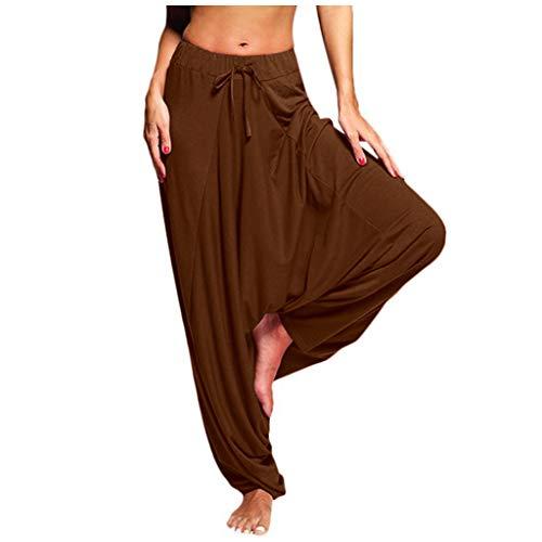 Shinehua Dames Harembroek Pumpbroek Aladinbroek Pluderbroek Yoga Baggy Aladin Vrijetijdsbroek Lichte wijde zomer Hippie broek