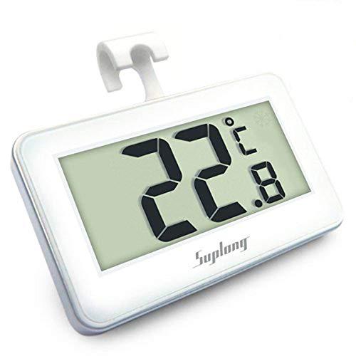 Fridge Thermometer Digital Fridge Freezer Thermometer,...