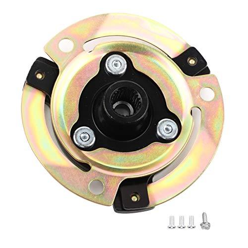 Gorgeri Kit de montaje de bobina de embrague de compresor, placa de aire acondicionado automotriz, buje de embrague de compresor compatible con CVC para Audi 5N0820803