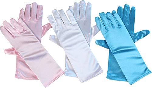 guantes blancos de niña de la marca Making Believe