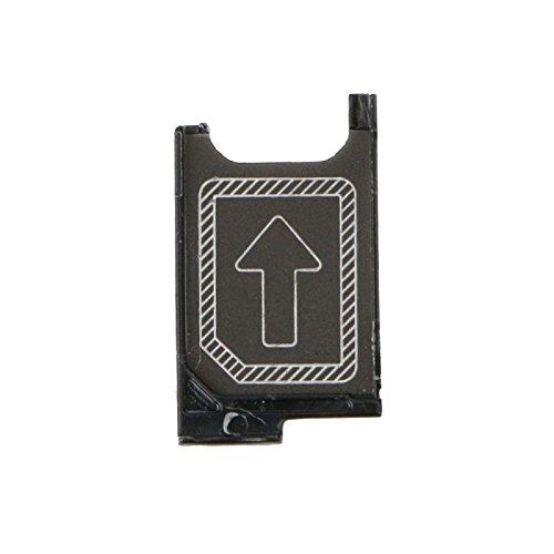 Sim Kartenhalter Halter für Sony Xperia Z3 D6603 Sim Tray Schwarz Ersatz Zubehör