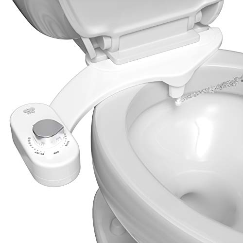 Squatty Potty Refresh-it Fresh Water Bidet Toilet Seat Attachment