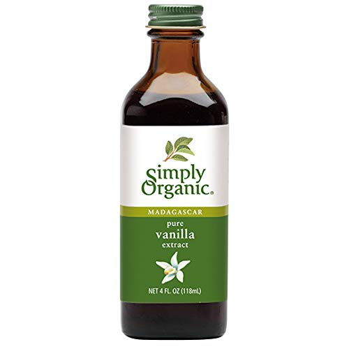 Vanilla Extract, Certified Organic, 4-Ounce Glass Bottle