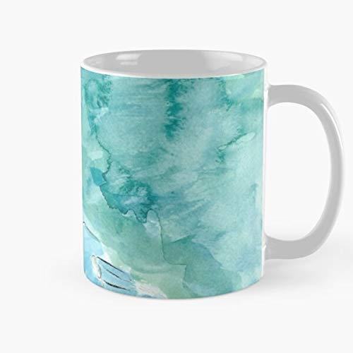 Valley Nausicaa Acuarela Hayao Ghibli Fanart Wind Nausica 盲 Of Miyazaki The Studio Best Taza de café de cerámica de 11 onzas