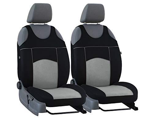 Nieuwe stoelhoezen Tuning 100% zitkussen universele maat geschikt voor Volvo V70 grijs
