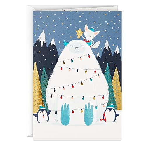 Hallmark UNICEF Boxed Christmas Cards, Yeti (12 Cards and 13 Envelopes) (5XPX9482)