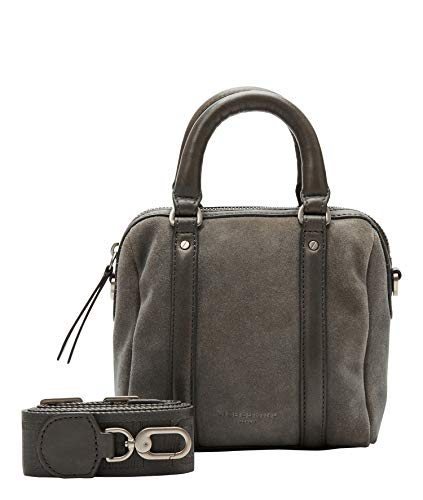 Liebeskind Berlin Handtasche, Oak Bowling Bag, Extra Small, gun grey