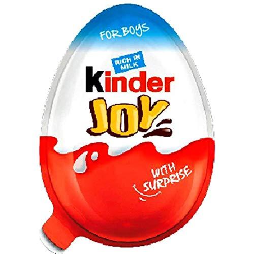 2 Boxes (6 Eggs) Surprise Chocolate JOY for BOY by Kinder Joy