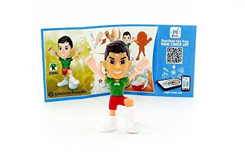 Kinder Überraschung, Christiano Ronaldo Figur mit Beipackzettel von den TEEN IDOLS (SD682)