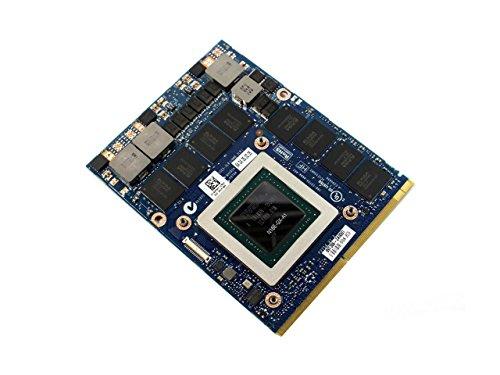 Brand New for Dell Alienware M17 M18 M17X M18X R1 R2 R4 R5 Gaming Laptop Upgrade 8GB Graphics Video Card nVidia GeForce GTX 980M GDDR5 N16E-GX-A1 256 Bit MXM 3.0B VGA Board Replacement Parts