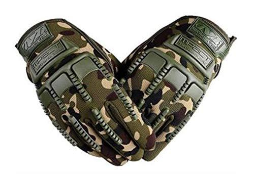 Univsal guantes de dedo completo para cualquier ocasión como guantes tácticos militares de caza para motocicleta, conducción, trabajo