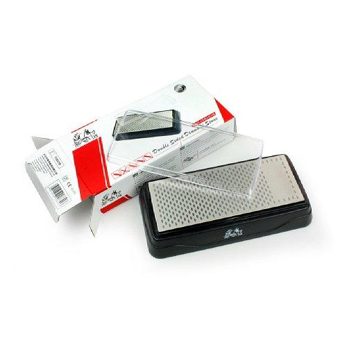 Taidea Dual Knifeboard Diamant Messerschärfer, Geeignet für Küchenmesser, Jackknife, Garden Messer Schärfen