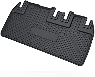 Cargo Liner for 2019 Sienna - Black TPO All Weather Heavy Duty Waterproof Rear Cargo Tray Trunk Floor Mat Protector Compatible with 2011-2019 Toyota Sienna (Without Power Folding 3rd Row Seats)