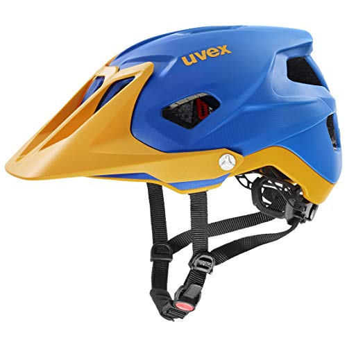Uvex Unisex– Erwachsene, quatro integrale Fahrradhelm, blue energy mat, 56-61 cm