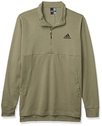 adidas Men's Game and Go Jacket, Legacy Green, Small