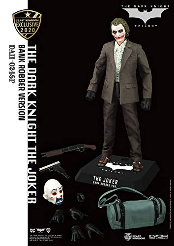 Beast Kingdom Toys- Figura DC Dark Knight The Joker Bank Robber Version (DAH-024SP)